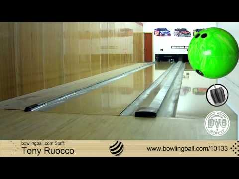 DV8 Misfit Green/White Bowling Ball Reaction Video by Tony Ruocco
