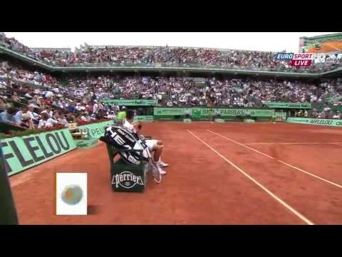 Roger Federer vs Novak Djokovic Roland Garros 2011 FULL MATCH