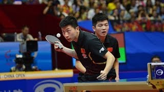 China Open 2014 Highlights: Ma Long/Fan Zhendong Vs Xu Xin/Zhang Jike (FINAL)