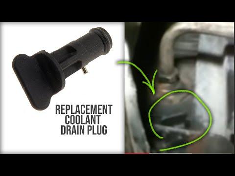 98 Silverado Radiator Drain Plug Replacement  Gm Full Size