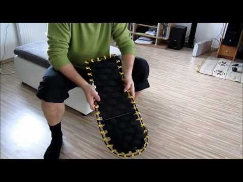 DIY snow shoes