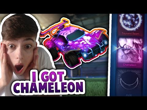 GETTING CHAMELEON + BEST COLOURS FOR NEW MYSTERY DECALS! | VICTORY CRATE | Rocket League