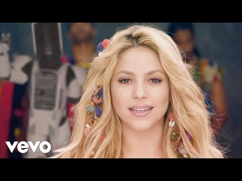 Shakira - Waka Waka (This Time for Africa) (The Official 2010...