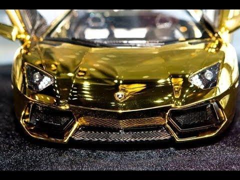 7,3 миллиона долларов! ДУБАЙ золотой ломбарджини DUBAI gold lombardzhini