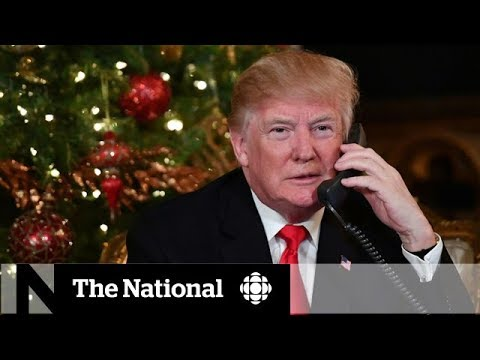 How Donald Trump is faring on his 1st Christmas as president