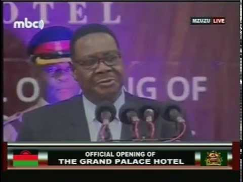 Malawi President Peter Mutharika's Grand Opening of The Grand Palace Hotel -  12 December 2014