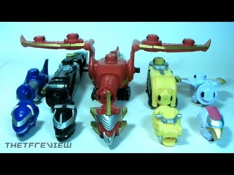 Power Rangers MegaForce GOSEI GREAT MEGAZORD Review