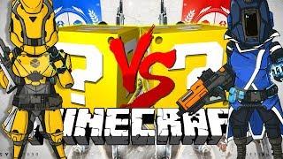 Minecraft: DESTINY 2 LUCKY BLOCK CHALLENGE | REVERSE GUN GAME!!
