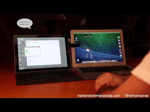 Análisis y comparativa Macbook Air 13'' vs Microsoft Surface Pro 3 12'' en Español