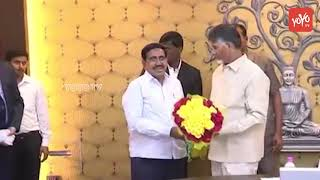 AP CM Chandrababu Birthday Wishes to Minister Narayana | Amaravati | AP News