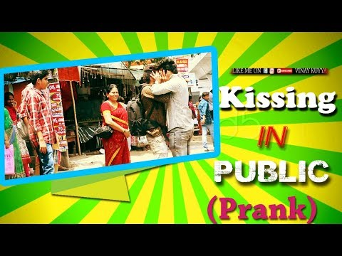 Kissing In Public Place | Comment Trolling Prank #13 | Ultimate Crazy Dares | Vinay Kuyya