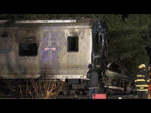 سبعة قتلى في حادث اصطدام قطار بسيارة في نيويورك