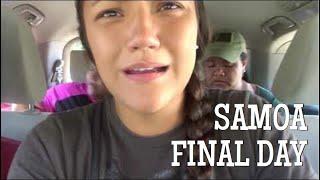 SAMOA RETREAT - Final Day | Samoa Flea market & Plantation House