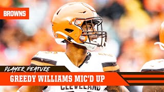 Greedy Williams Mic'd Up vs. Bengals (Week 17) | Cleveland Browns