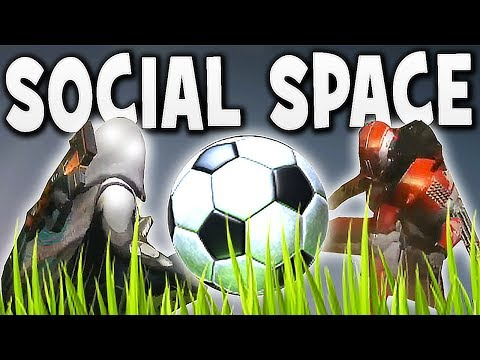 "Destiny 2 - NEW SOCIAL SPACE ""THE FARM"" !"