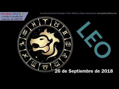 Horóscopo Diario - Leo - 26 de Septiembre de 2018