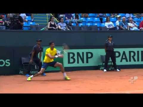 Brasileiros garantem o retorno do Brasil à elite da Copa Davis - 15/09/2014