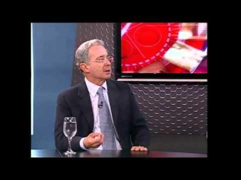 Entrevista Alvaro Uribe Velez