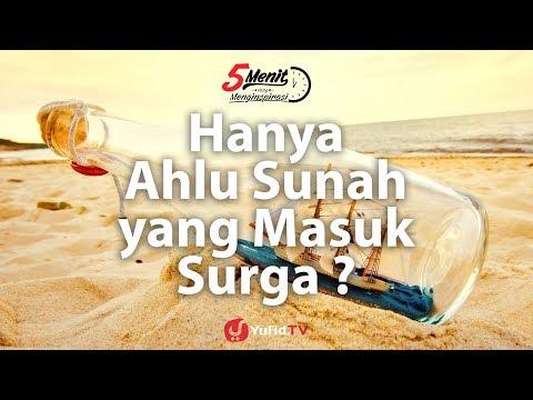Hanya Ahlus Sunnah yang Masuk Surga