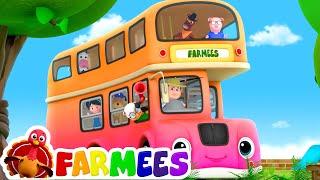 Wheels On The Bus | Kindergarten Nursery Rhymes For Kids by Farmees