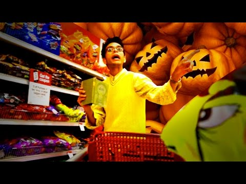 Grandpa HATES Halloween