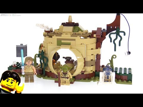 LEGO Star Wars Yoda's Hut (2018) review! 75208