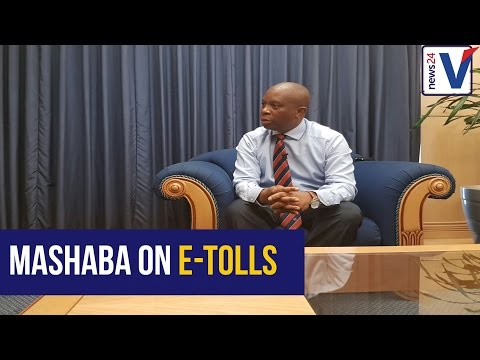 Joburg mayor Herman Mashaba on e-tolls