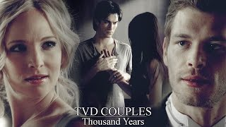 ► TVD Couples  ||  Thousand years