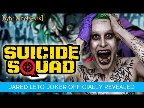 Jared Leto Joker REVEALED