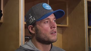 Matthew Stafford on mindset entering Vikings game