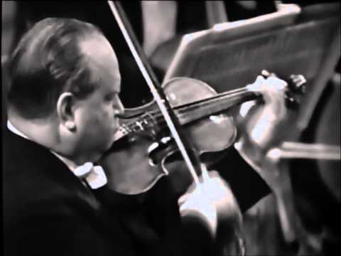 David Oistrakh - Brahms Violin Concerto in D major, 1. Allegro non troppo
