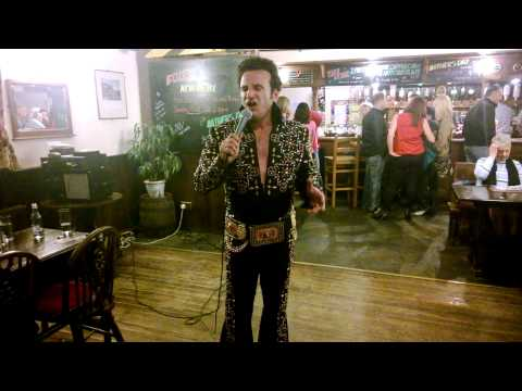 John Diamond Elvis Tribute. Somerset 2014.