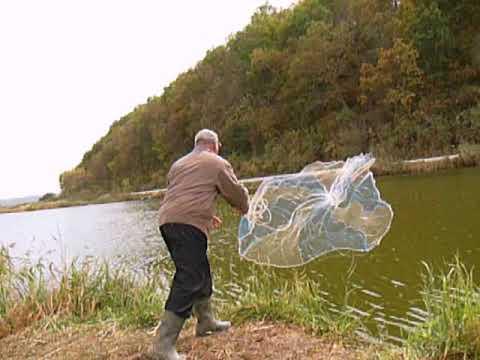 рыбалка на сети летом видео кастинговые