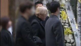 EXO Baekhyun & Chanyeol at Shinee's Jonghyun Funeral