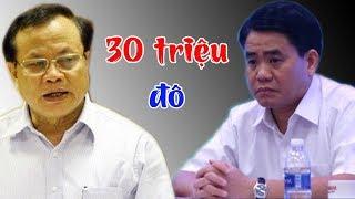 30 triệu đô Nguyễn Đức Chung mua ghế Chủ tịch Hà Nội- Phạm Quang Nghị bị bắt để điều tra?