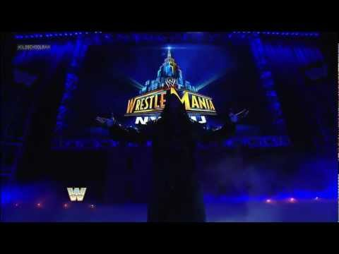 The Undertaker returns to WWE: Raw, March: 4, 2013