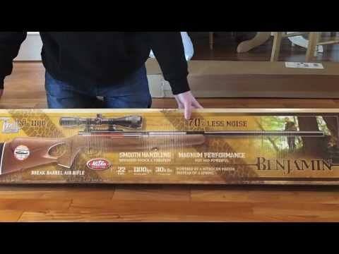 Unboxing the Benjamin Trail NP XL 1100 .22