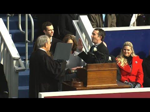 Northam Sworn In, Pledges Less Toxic Politics
