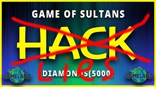 Game of Sultans Hack/Cheats - Unlimited Diamonds Tool 2018 (Android & iOS) Взлом игры Великий Султан