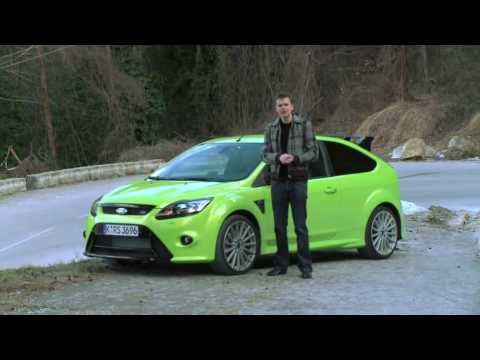 Focused Focus:  Focus RS Test Drive in Europe