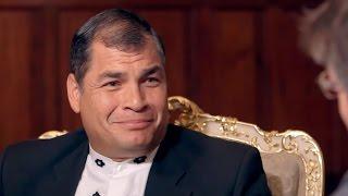 """Rafael Correa: """"Para muchos, quedar  mal frente a la banca internacional es terrible"""" - Salvados"""