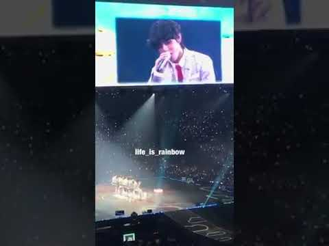 Taehyung singing 'All of me' by John Legend (feat Jungkook)