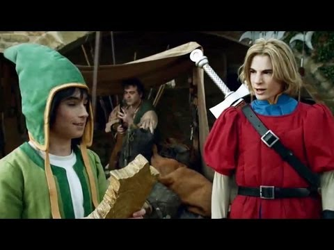 Dragon Quest VII Live Action TV Commercial