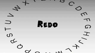 How to Say or Pronounce Redo