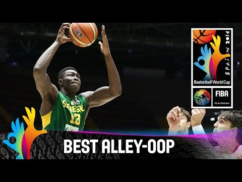 Croatia v Senegal - Best Alley-Oop - 2014 FIBA Basketball World Cup