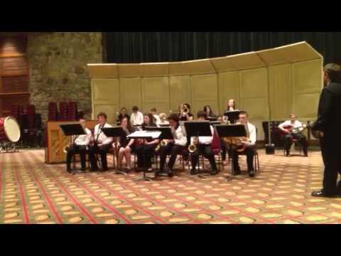 Murphysboro Middle School Jazz band at Gatlinburg