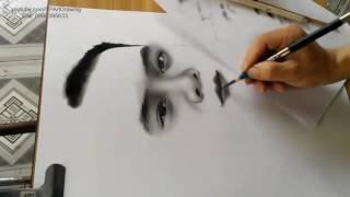 Nghệ thuật vẽ chân dung truyền thần _ Portrait art _ DP Truong
