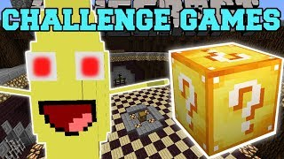 Minecraft: BANANA BOSS CHALLENGE GAMES - Lucky Block Mod - Modded Mini-Game  from PopularMMOs