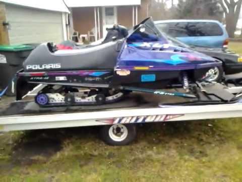 97 Polaris Indy XLT 600 Triple