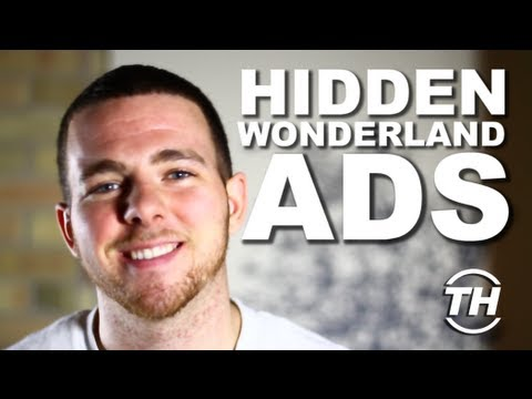 Hidden Wonderland Ads - Jonathan Brown Unveils Interactive Christmas Ads